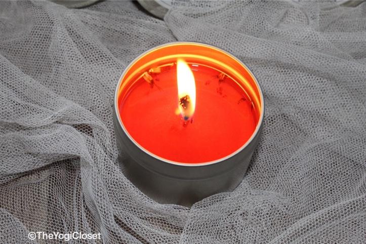 Sacral Chakra Balance Aromatherapy Candle